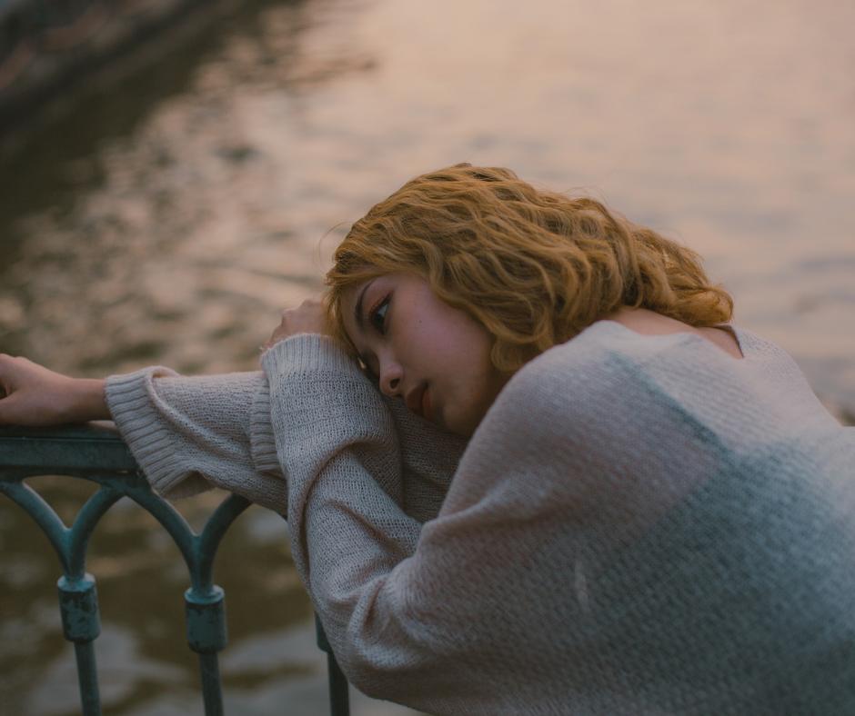 sad lonely girl